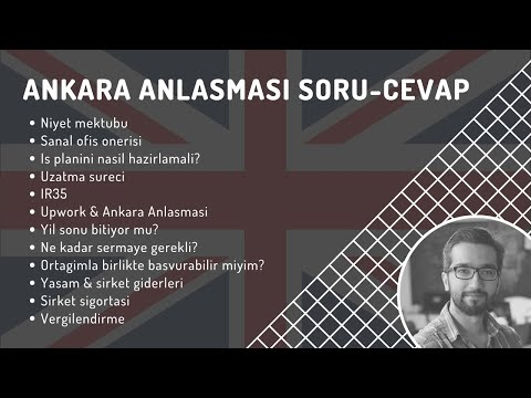 Ankara Anlasmasi - Sık Sorulan Sorular