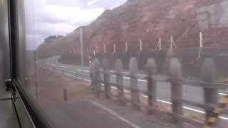 JR五能線 広戸→北金ケ沢【キハ40系・2835D】 2020.12.07