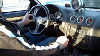 SpeedMullet 6.0 lsx STICK SHIFT 10.87 pass in car 7800 rpm launch