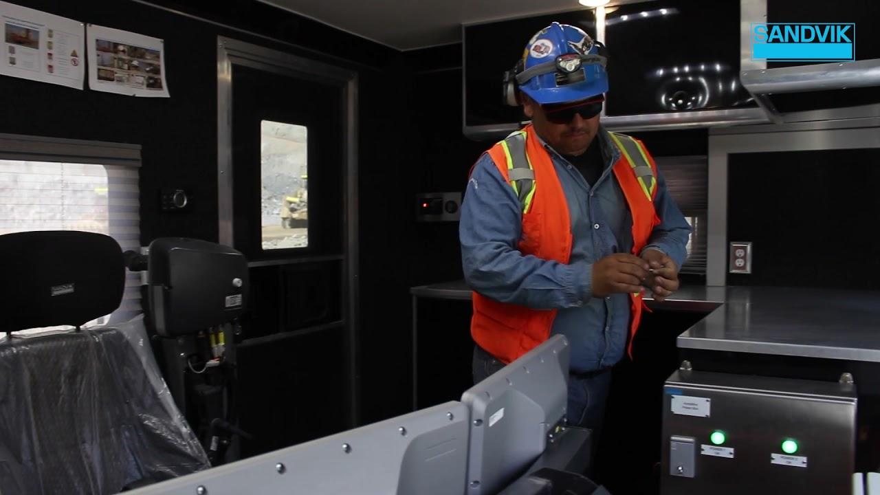 Sandvik DR416i at Candelaria - AutoMine® Surface Drilling