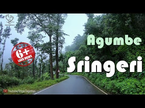 Sringeri | Agumbe | Agumbe Ghat Road | Sharada Peetham | Karnataka Tourism |  Steps Together