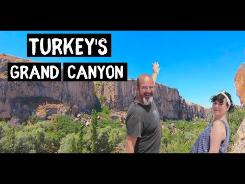 Exploring IHLARA Valley Cappadocia - TURKEY'S Grand Canyon