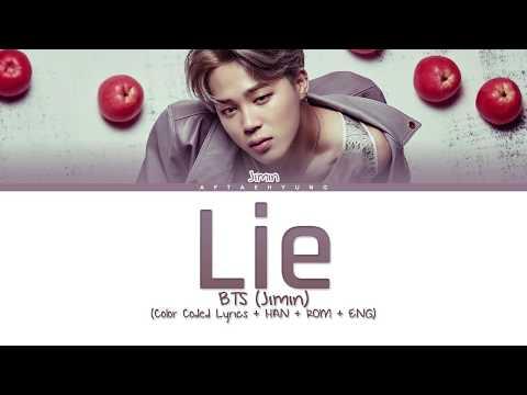 BTS (Jimin) - LIE (Color Coded Lyrics/Han/Rom/Eng)