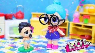Разные СМЕШНЫЕ МУЛЬТИКИ #26 с куклами ЛОЛ Dolls LOL Surprise Мультфильмы для Детей с Игрушками