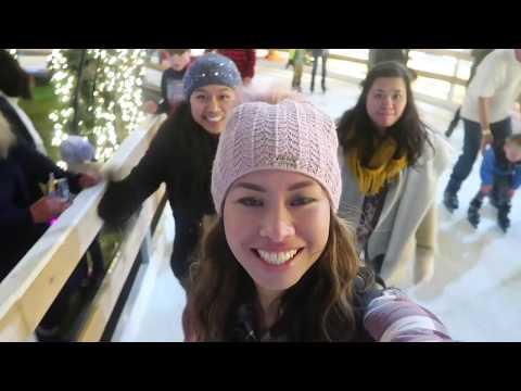 1st Visit @Enchant Seattle 2018! Light Maze | Ice Skating