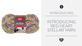 Introducing Red Heart Stellar Yarn