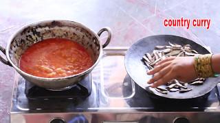 ఎండు చేపల కూర-Dry Fish Curry- सूखी मछली करी-country curry