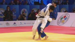 Harai goshi - Kim (KOR) v Urozboev (UZB) -60kg