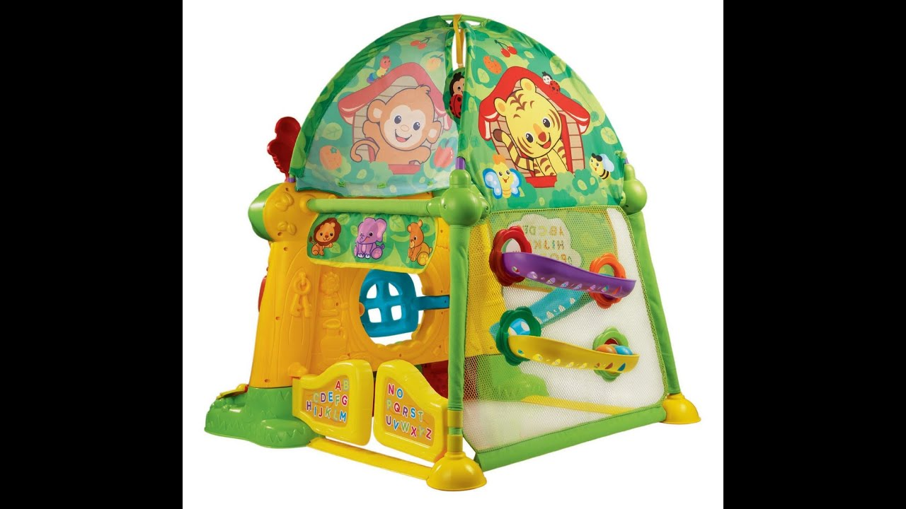 sc 1 st  YouTube & Review: VTech Grow and Discover Tree House Toy Tent - YouTube