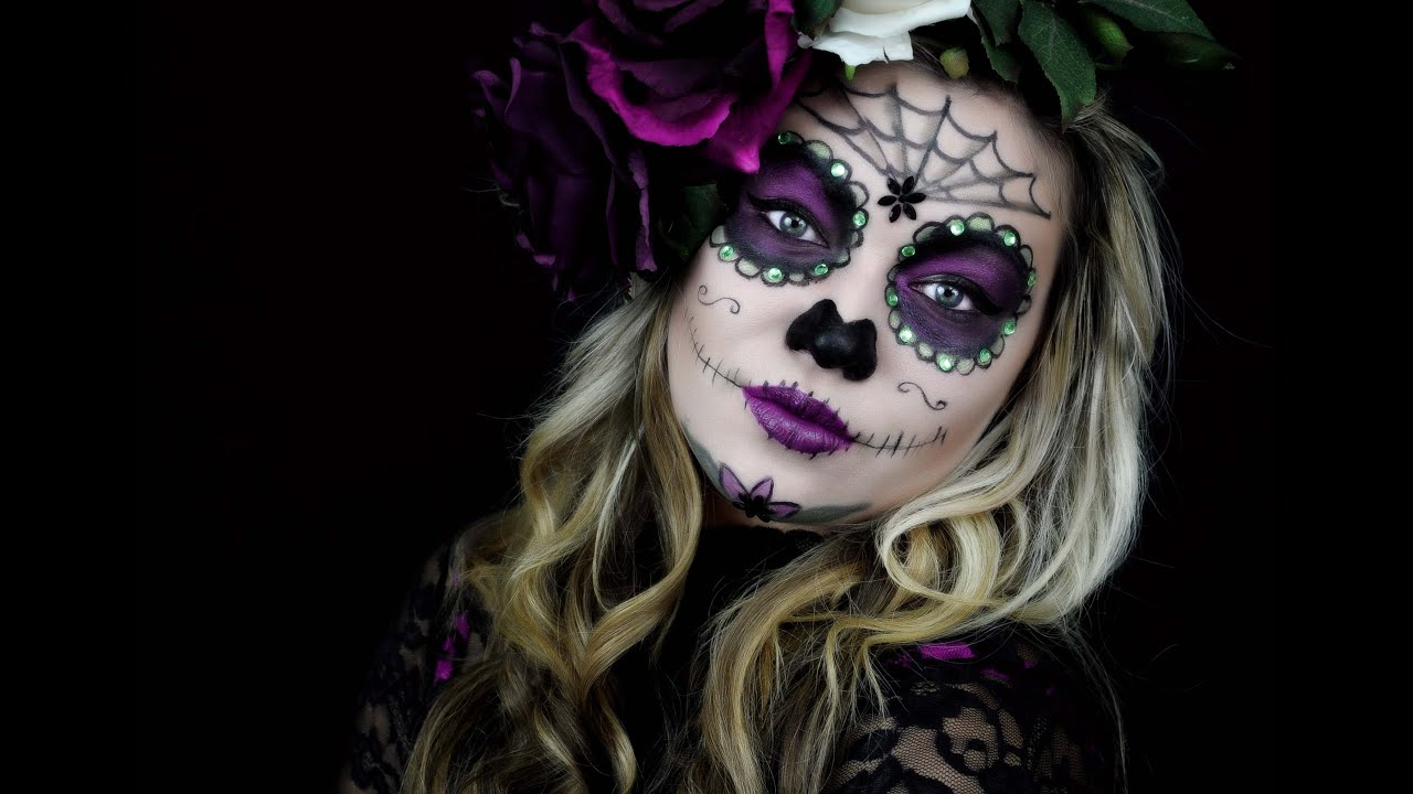 Sehr Sugar Skull Makeup - YouTube YY19