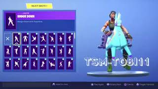 * NEW SKIN * YIJA! Dancing all the dances of Fortnite what Le is best?