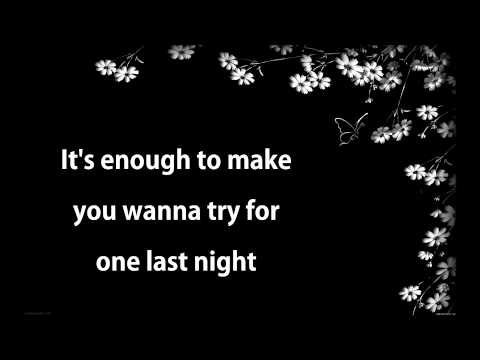 One last night - Vaults (Fifty Shades Of Grey) (Lyrics)