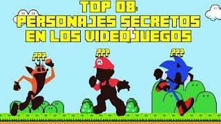 Top 08: Personajes Secretos y Desbloqueables en Los Videojuegos - Pepe el Mago