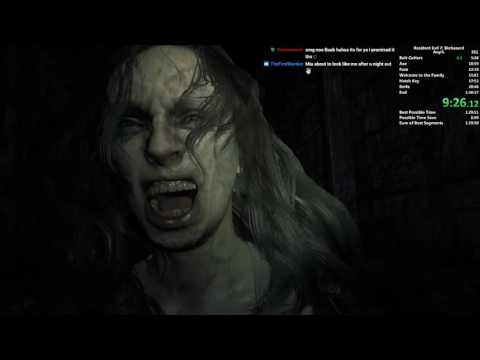Resident Evil 7 NG+ Any% Speedrun in 1:30:22 (Former Record)