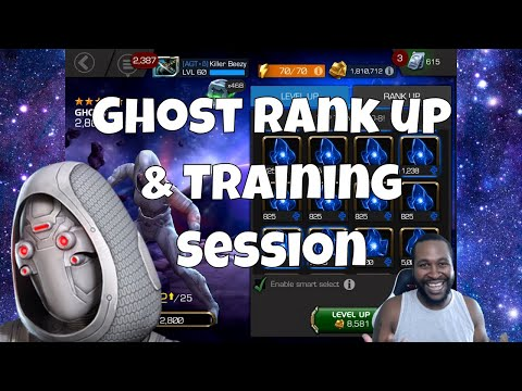 Ghost Rank up 4/55 & Gameplay  l  Marvel Contest Of Champions