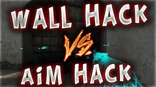 WALL HACK VS AİM HACK EFSANE HİLE KAPIŞMASI !! (CS:GO)