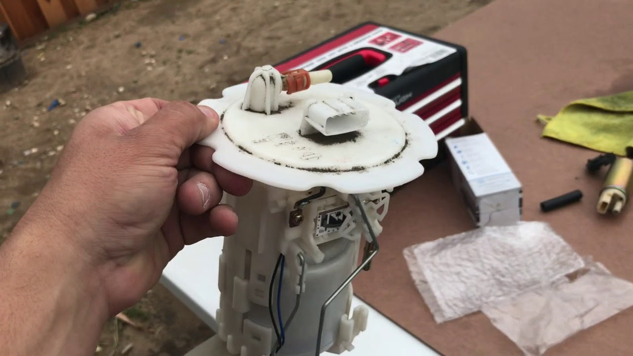 diy 00 06 infinity g35 fuel pump replacement [ 1280 x 720 Pixel ]
