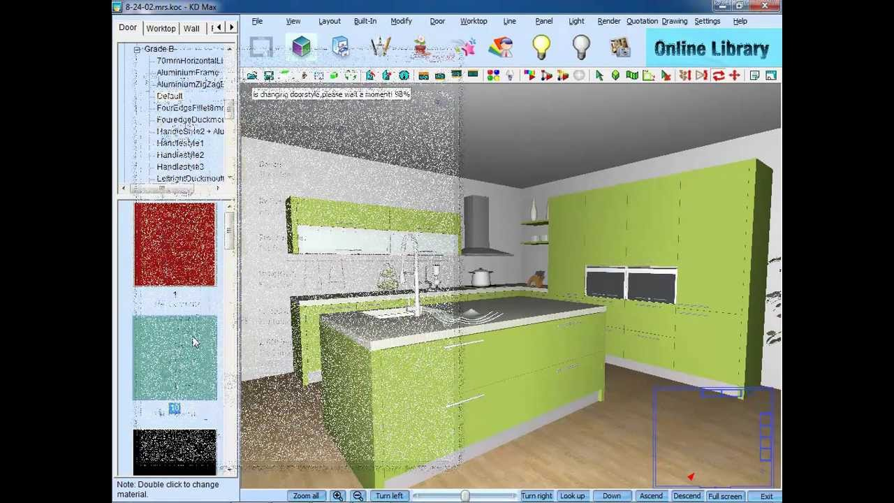 Kd Max 3d Kitchen Design Software Free Download Kitchen Designing Software Kdmax