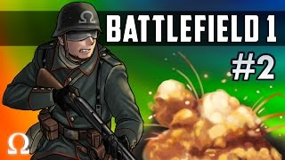 DEFEND THE TRENCHES, CHAOS OF WAR! | Battlefield 1 #2 Ft. Delirious, Cartoonz, Bryce