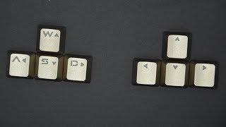 🚩 Поменялись кнопки WASD и стрелки на клаве