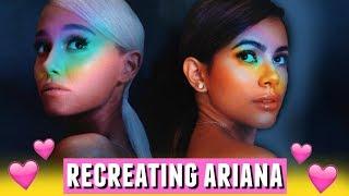 "I Tried Recreating Ariana Grande's Album Cover!📸🌈 ""No Tears Left To Cry"""