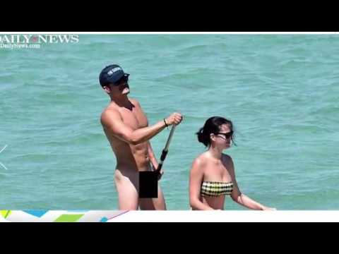 Orlando Bloom Paddle Boarding| Orlando Bloom Uncensored