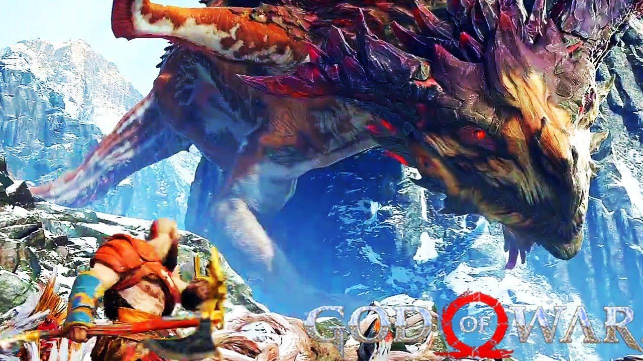 Resultado de imagem para god of war dragões