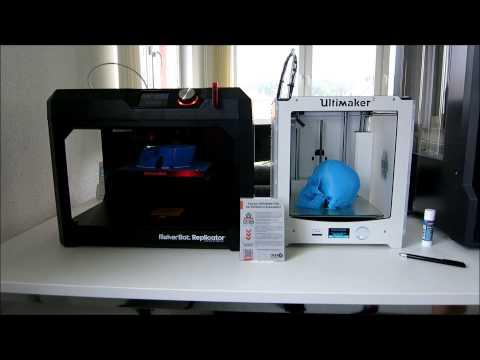 3D-Druckverleich Teil 1: Replicator 5th generation vs Ultimaker 2