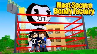 Minecraft Most Secure Base - THE MOST SECURE BENDY BASE IN MINECRAFT!!!!