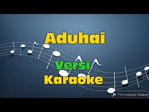 Aduhai Versi Karaoke  - Bang HJ Rhoma Irama Duet Riza Umami