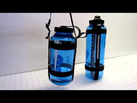 Canyon Strap Water Bottle Holder. - YouTube
