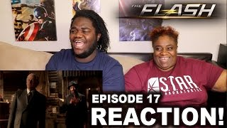 The Flash Season 3 Episode 17 : REACTION WITH MOM!