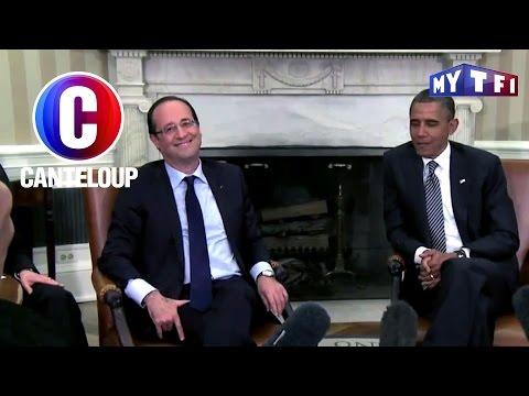 C'est Canteloup - La tactique de François Hollande salué par Barack Obama