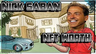 Nick Saban's Net Worth, Salary, Cars, and Houses