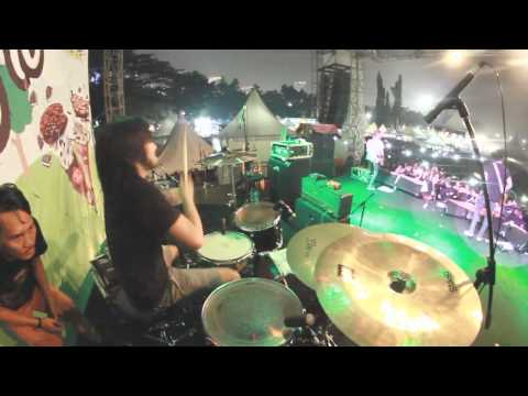 Ipank Kiki Pedih Drum ( at JakCloth 2014 )