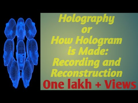 Holography or how hologram made