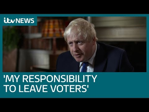 Boris Johnson tells ITV News: I'm unsure if PM's Brexit plan is worse than staying in EU | ITV News