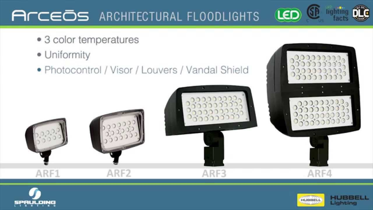 Spaulding Lighting Arceos Led Floodlights