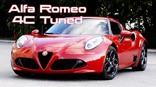 Alfa Romeo 4C // Tuned // A Review with T.H.