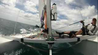 Paper Tiger Catamaran Racing Rye YC