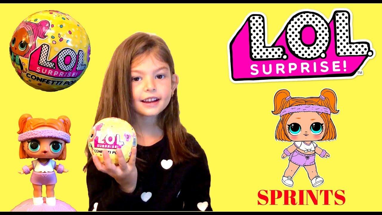 Series 3 LOL Confetti Pop Sprints