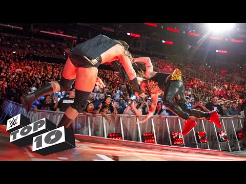 Superstars throwing rivals for insane distances: WWE Top 10