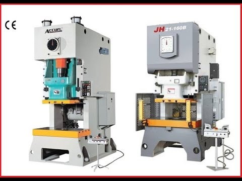 C frame Mechanical Press 100 tons / Eccentric Press 100T with air ...