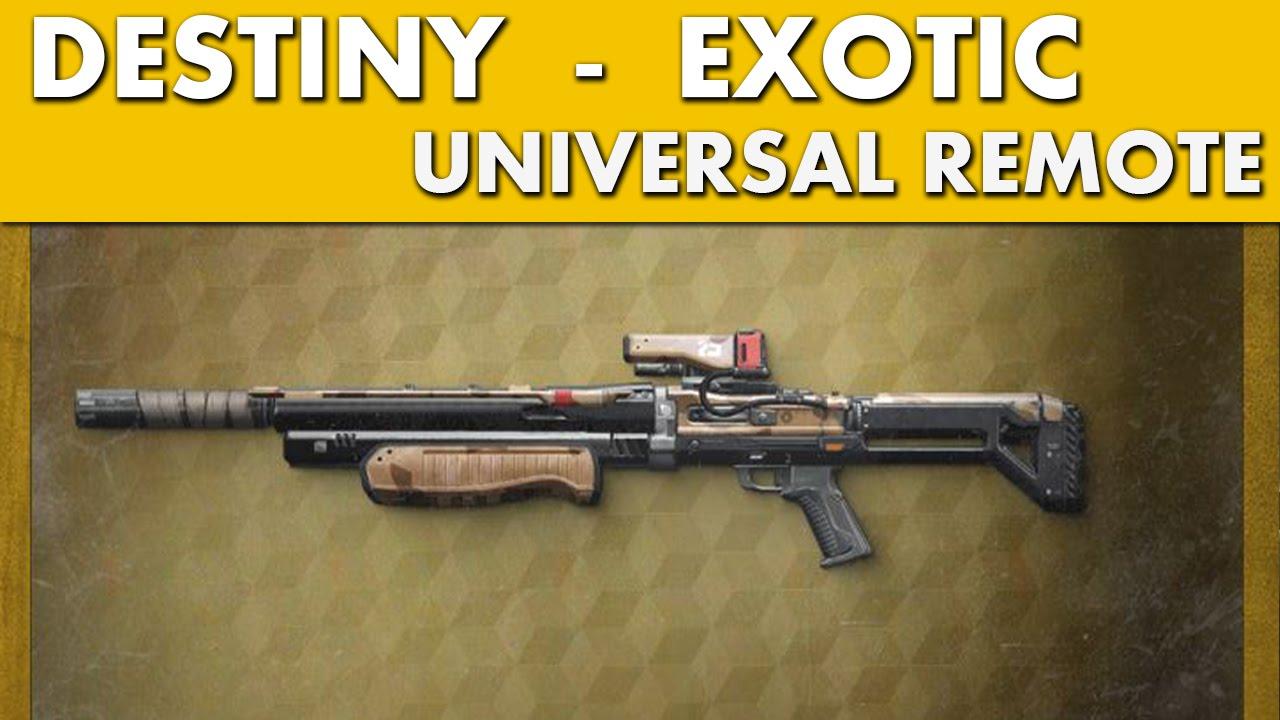 Destiny exotic slots