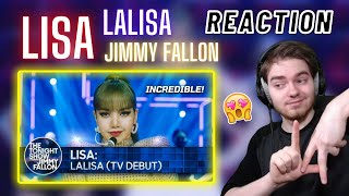 LISA 'LALISA' (TV Debut) | The Tonight Show Starring Jimmy Fallon | REACTION
