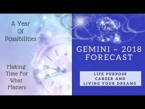 Resolution and New Opportunities! Gemini 2018 Forecast Tarot Reading