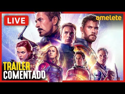 TRAILER 3 VINGADORES: ULTIMATO - COMENTADO