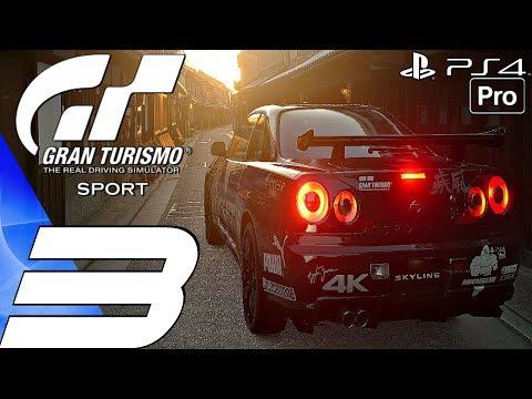Gran Turismo Sport - Gameplay Walkthrough Part 3 - Clubman Cup (Career Mode) PS4 PRO