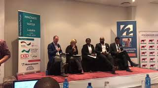 """Innovate 4 Water"" Lusaka - Panel discussion - talk by Robin Farrington (GIZ)"