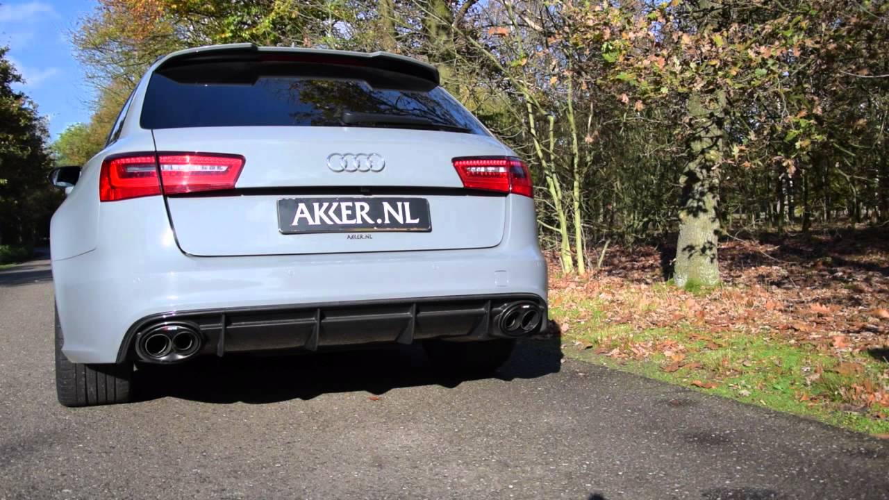 audi rs6 avant c7 with akrapovic youtube. Black Bedroom Furniture Sets. Home Design Ideas